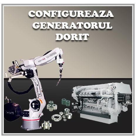Toate generatoarele de curent - Configureaza generatorul dorit